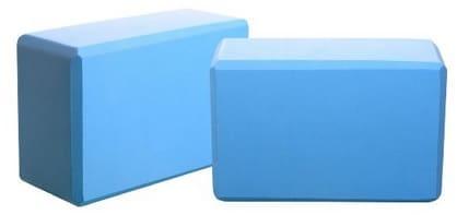 foam yoga blocks blue