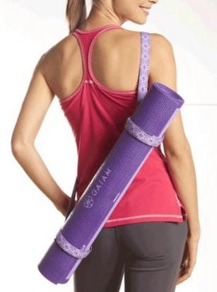 best yoga mat sling