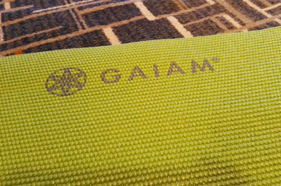 choosing a yoga mat gaiam
