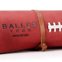 1000 dollar leather yoga mat baller