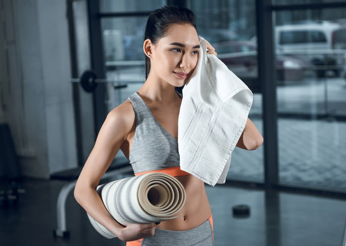 best yoga towels with grip