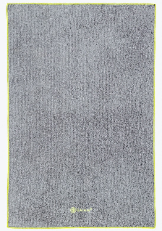 gaiam thirsty best yoga towel
