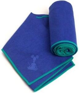yogarat blue hand towel