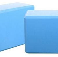foam blocks blue