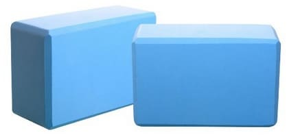 foam yoga blocks blue