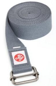 manduka cotton yoga strap