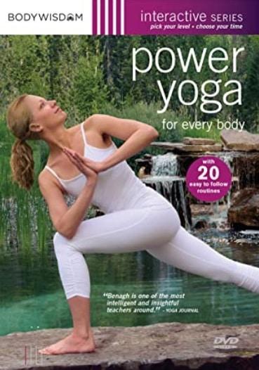 power yoga dvd vinyasa video