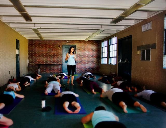 yoga class beginner