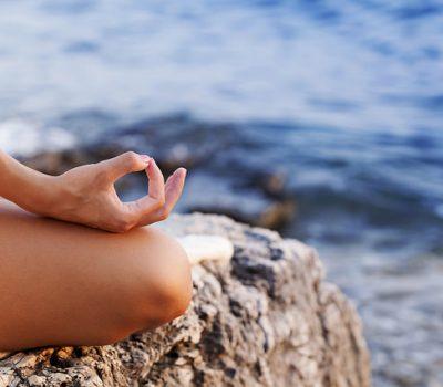 beach meditation yoga principles