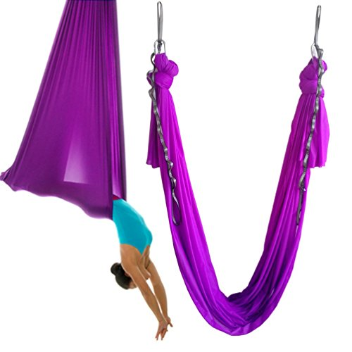 wellsem pilates yoga swing aerial yoga hammock aerial yoga  the best yoga swings and yoga trapeze hammocks for      rh   yogauthority org