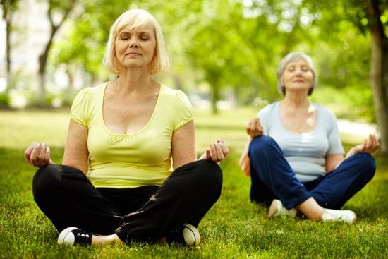 yoga poses seniors modifications