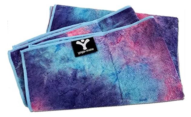 black friday yoga deals - tie dye towel