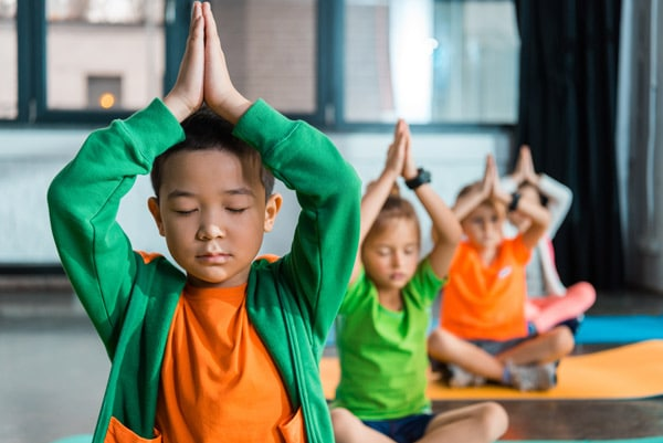 how to teach yoga to children