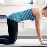 yoga poses tone body