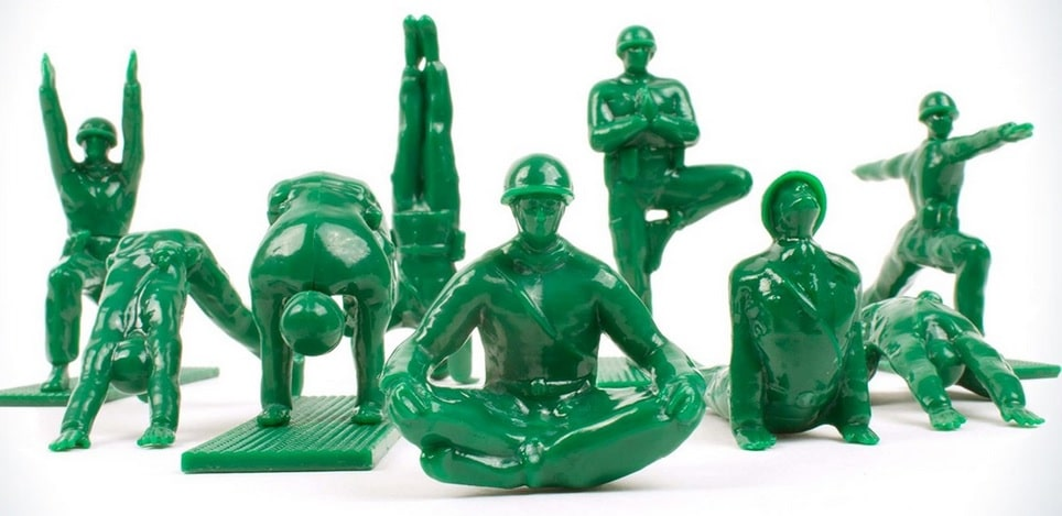 green yoga joes figures