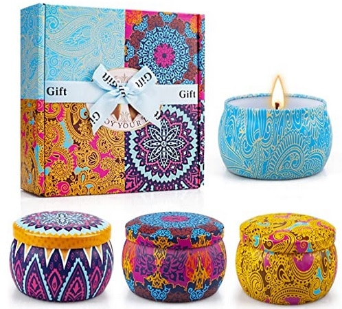 yinuo scented candle set