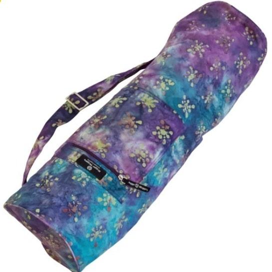 hugger mugger batik yoga bag