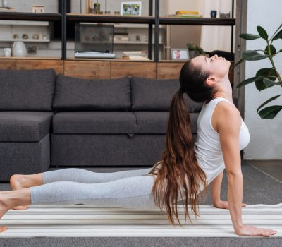 standard yoga mat size
