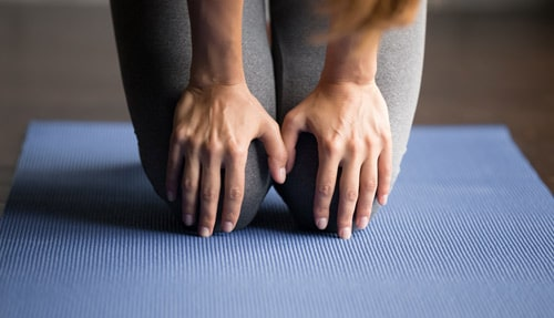 knee pain discomfort padding