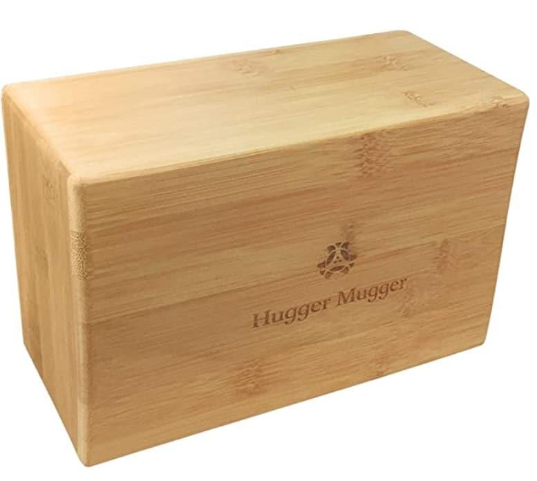 hugger mugger best wooden yoga blocks