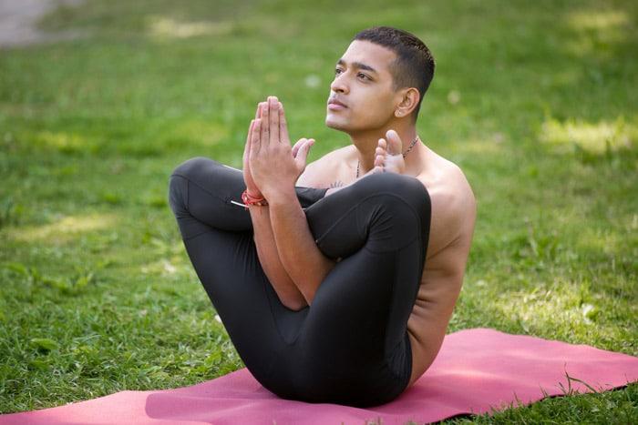 embryo - crazy yoga poses