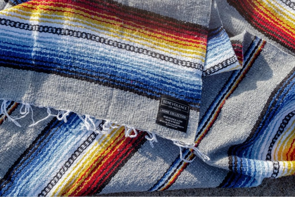 best mexican yoga blankets