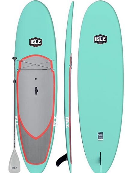 isle rigid stand up paddle board yoga