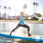 warrior 2 paddleboard