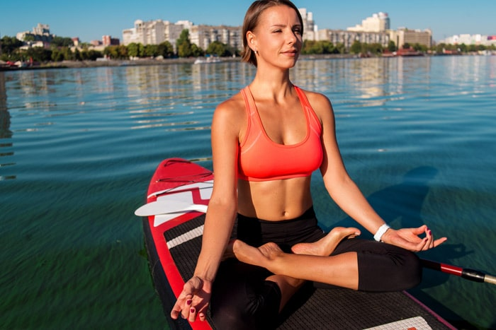 what is sup yoga - beginner poses