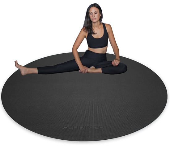 schriner round yoga mats