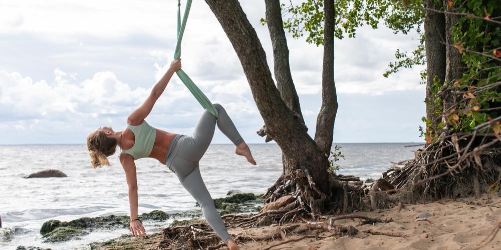Aerial Yoga no Rig
