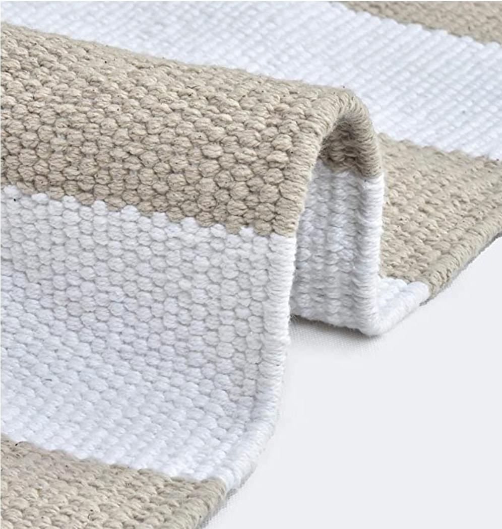 Glamburg Organic Cotton Stripe Yoga Mat Review